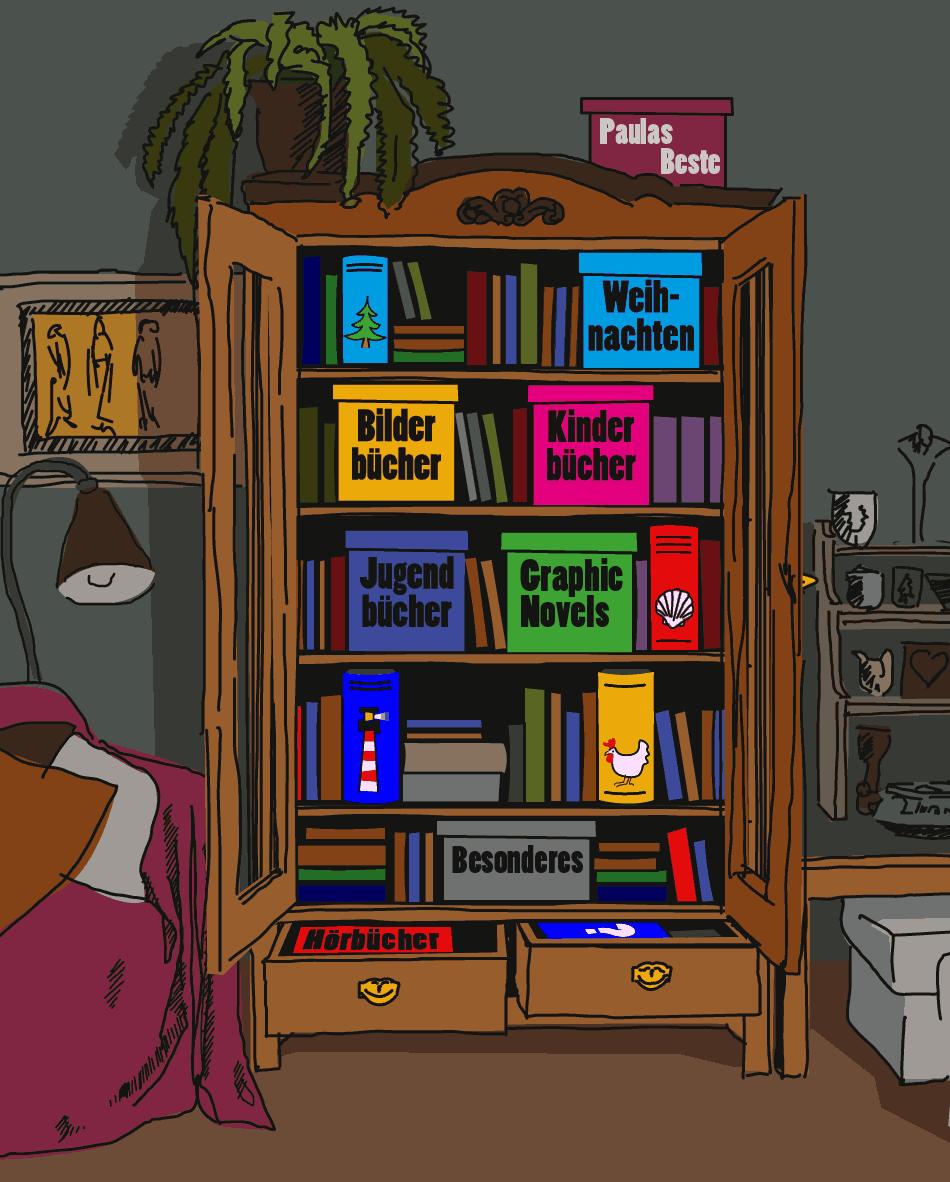 Paula - Brigittes Bücherschrank