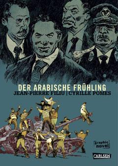 """Buchcover """"Der Arabische Frühling"""" von Jean-Pierre Filiu und Cyrille Pomes"""