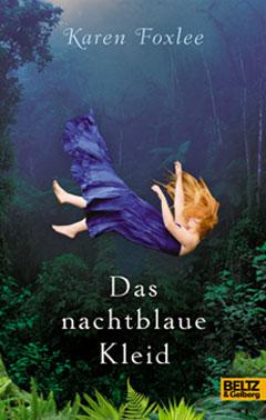 """Buchcover """"Das nachtblaue Kleid"""" von Karen Foxlee"""