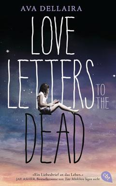 """Buchcover """"Love Letters to the Dead"""" von Ava Dellaira"""