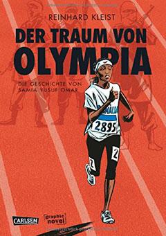 """Buchcover """"Der Traum von Olympia"""" von Reinhard Kleist"""