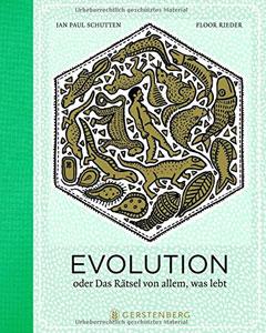 """Buchcover """"Evolution"""" von Jan Paul Schutten und Floor Rieder"""