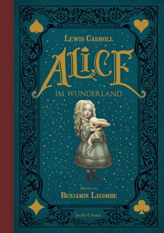 """Buchcover """"Alice im Wunderland"""" von Lewis Carroll"""