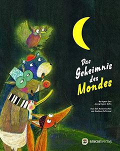 """Buchcover """"Das Geheimnis des Mondes"""" von Bo-hyeon Seo"""