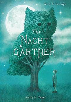 """Buchcover """"Der Nachtgärtner"""" von Terry und Erik Fan"""