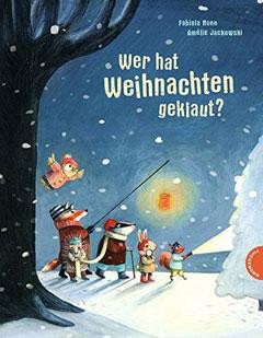 """Buchcover """"Wer hat Weihnachten geklaut?"""" von Fabiola Nonn"""