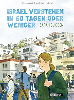 """Buchcover """"Israel verstehen in 60 Tagen oder weniger"""" von Sarah Glidden"""