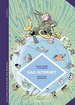 """Buchcover """"Das Internet"""" von Jean-Noel Lafargue"""