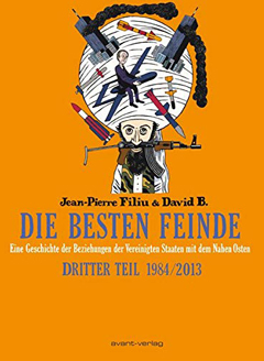 """Buchcover """"Die besten Feinde"""" von Jean-Pierre Filiu und David B."""