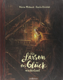 """Buchcover """"Als Larson das Glück wiederfand"""" von Martin Widmark"""