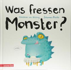 """Buchcover """"Was fressen Monster?"""" von Johannes Büchs"""