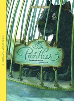"""Buchcover """"Der Panther"""" von Rainer Maria Rilke"""
