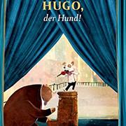 Abbildung An der Geige: Hugo, der Hund