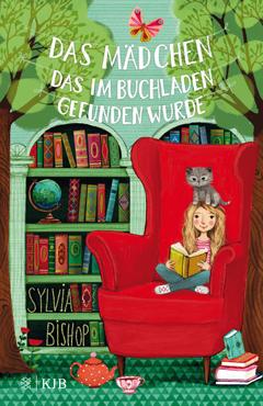 """Buchcover """"Das Mädchen, das im Buchladen gefunden wurde"""" von Silvia Bishop."""