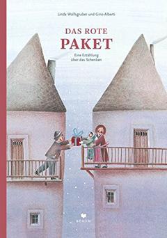 """Buchcover """"Das rote Paket"""" von Linda Wolfsgruber und Gino Alberti"""