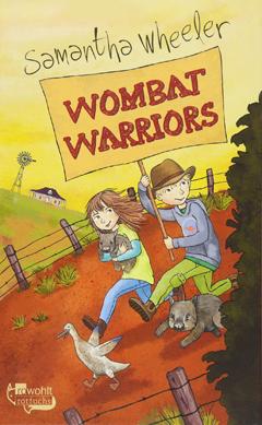 """Buchcover """"Wombat Warriars"""" von Samantha Wheeler"""