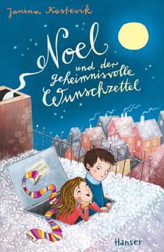 """Buchcover """"Noel und der geheimnisvolle Wunschzettel"""" von Janina Kastevik"""