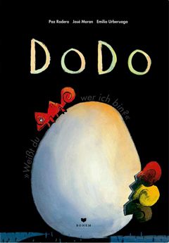 """Buchcover """"Dodo: Weißt du, wer ich bin?"""" von Paz Rodero und José Moran"""