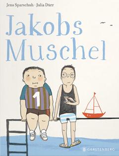"""Buchcover """"Jakobs Muschel"""" von Jens Sparschuh"""