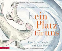 """Buchcover """"kein Platz für uns"""" von Kate und Jol Temple"""