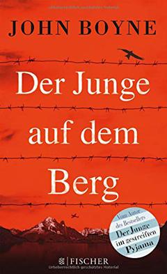 """Buchcover """"Der Junge auf dem Berg"""" von John Boyne"""
