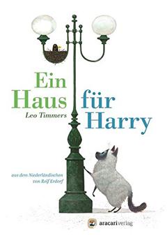 """Buchcover """"Ein Haus für Harry"""" von Leo Timmers"""