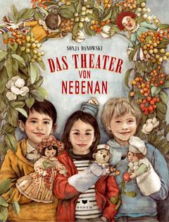 """Buchcover """"Das Theater von nebanan"""" von Sonja Danowski"""