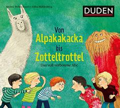 """Buchcover """"Von Alpakakacka bis Zotteltrottel - Das voll verbotene Abc"""" von Andrea Weller-Essers und Eilika Mühlenberg"""
