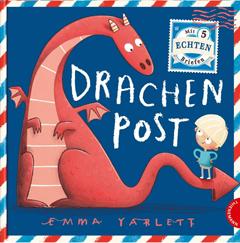 """Buchcover """"Drachenpost"""" von Emma Yarlett"""