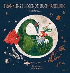 """Buchcover """"Franklins fliegende Buchhandlung"""" von Jen Campbell"""
