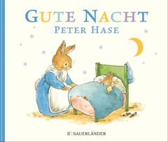 """Buchcover """"Gute Nacht Peter Hase"""" von Beatrix Potter"""