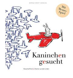 """Buchcover """"Kaninchen gesucht"""" von Maranke Rinck"""