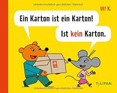 """Buchcover """"Ein Karton ist ein Karton! Ist kein Karton."""" von Ulf K."""