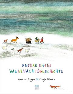 """Buchcover """"Unsere eigene Weihnachtsgeschichte"""" von Annette Langen"""