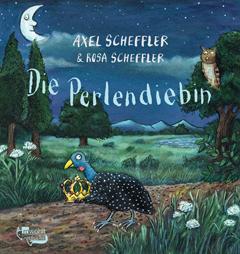 """Buchcover """"Die Perlendiebin"""" von Axel und Rosa Scheffler"""