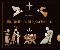 """Buchcover """"Die Weihnachtsgeschichte"""" von Patti Rokus"""