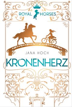 """Buchcover """"Kronenherz"""" von Jana Hoch"""