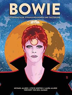 """Buchcover """"Bowie"""" von Michael Allred und Steve Horton"""