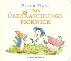 """Buchcover """"Peter Hase - Das Überraschungspicknick"""" von Beatrix Potter"""
