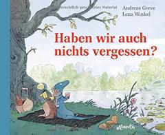 """Buchcover """"Haben wir auch nichts vergessen?"""" von Andreas Greve"""