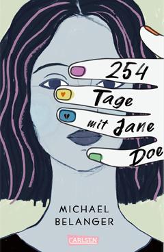 """Buchcover """"254 Tage mit Jane Doe"""" von Michael Belanger"""
