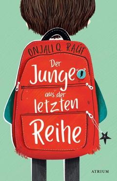 """Buchcover """"Der Junge aus der letzten Reihe"""" von Onjali Q. Raúf"""