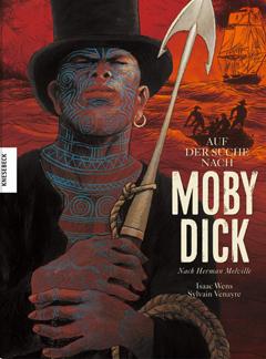 """Buchcover """"Auf der Suche nach Moby Dick"""" von Herman Melville und Sylvain Venayre"""