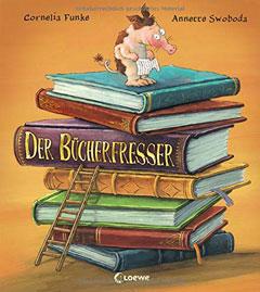 """Buchcover """"Der Bücherfresser"""" von Cornelia Funke"""