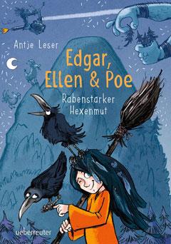 """Buchcover """"Edgar, Ellen & Poe"""" von Antje Leser"""