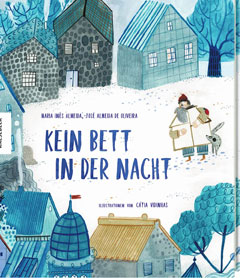 """Buchcover """"Kein Bett in der Nacht"""" von Maria Inês de Almeira"""